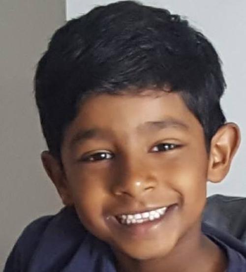 Neelan Thirunavukkarasu was last seen in his school uniform on Brett Place, West Pennant Hills.