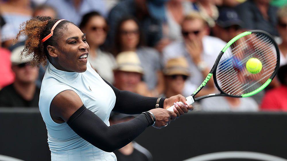 Serena Williams. (AAP)