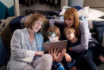 Nicole Kidman and Meryl Streep in Big Little Lies
