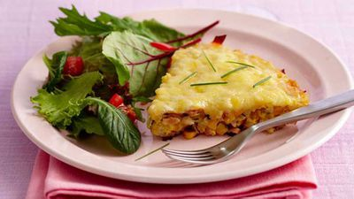 "<a href=""http://kitchen.nine.com.au/2016/05/17/11/40/delicious-and-gluten-free-corn-chive-and-ham-rice-cake"" target=""_top"">Delicious and gluten free: Corn, chive and ham rice cake</a> recipe"
