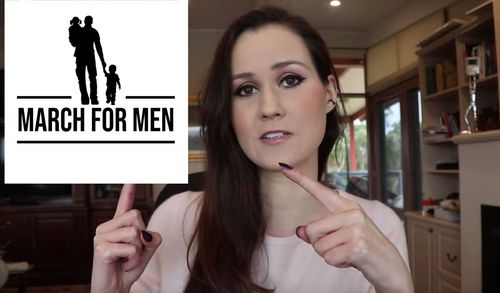 Conservative political commentator, Sydney Watson, has organised the August 25 rally and is hoping that hundreds of men and women come together at Federation Square. Picture: Youtube