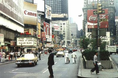 <strong>Times Square, New York City in 1977</strong>