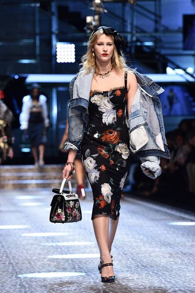 Destry Allyn Spielberg at Dolce & Gabbana <em></em>