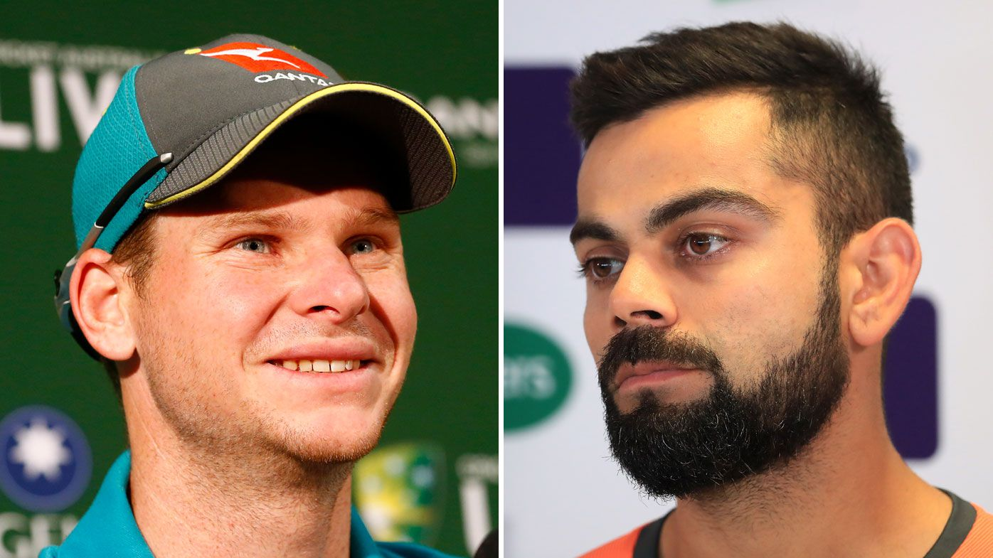 Steve Smith (left) and Virat Kohli
