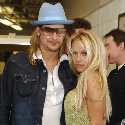 <p>Pamela Anderson and Kid Rock</p>