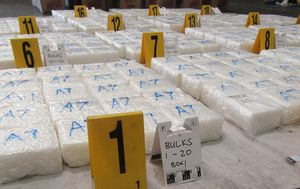 Drug haul worth $180 million found inside furniture container in Melbourne