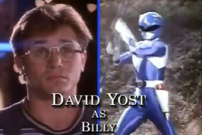 David Yost: The Blue Ranger/Billy Cranston<br/><br/>Image: Saban Entertainment