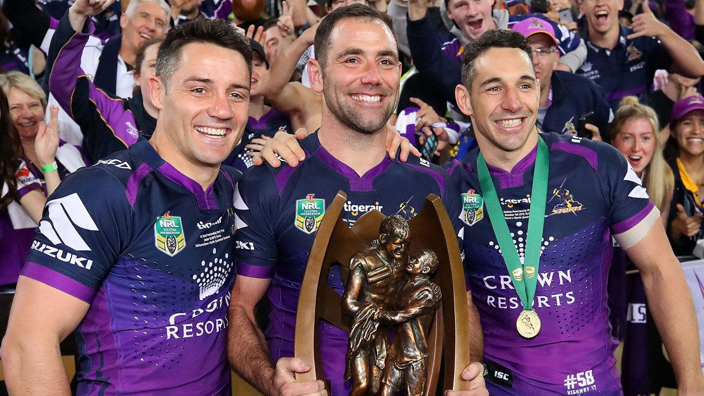 WAGs' fallout behind alleged feud between famed Melbourne Storm 'Big Three'