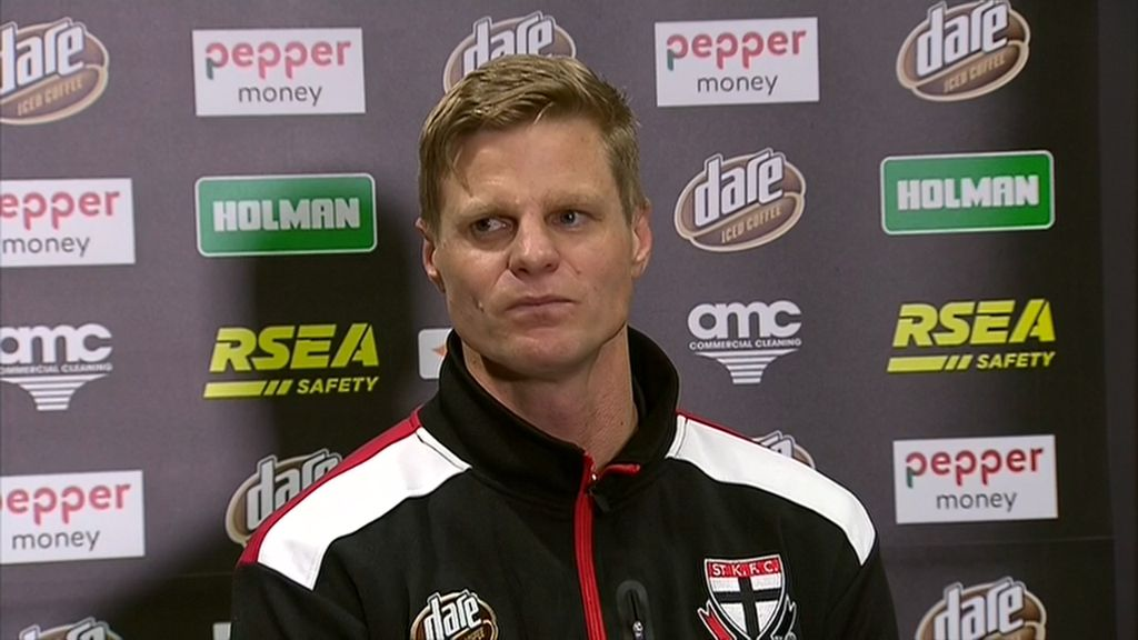 Riewoldt tears up