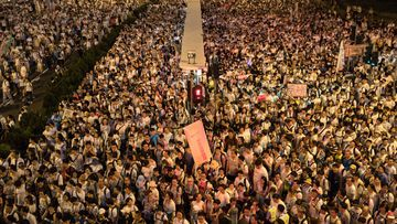 An estimated one million people protested in Hong Kong this week over proposed extradition laws.