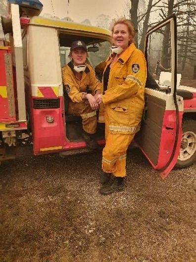 Firefighting sisters