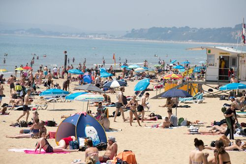 Bournemouth Beach in Dorset in the UK was ranked two places higher than Manly at number 14. (AAP
