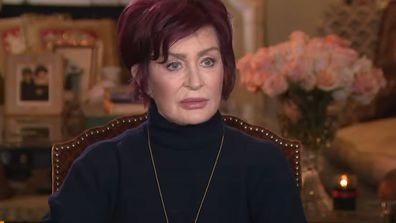 Sharon Osbourne on Entertainment Tonight