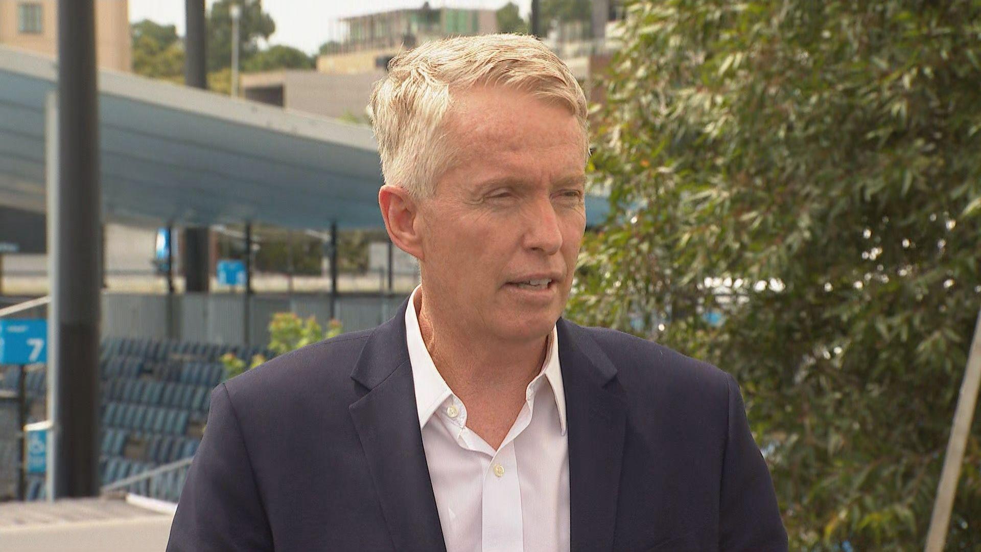 Australian Open boss Craig Tiley says it's 'full steam ahead' despite COVID-19 scare