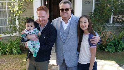 Modern Family cast.