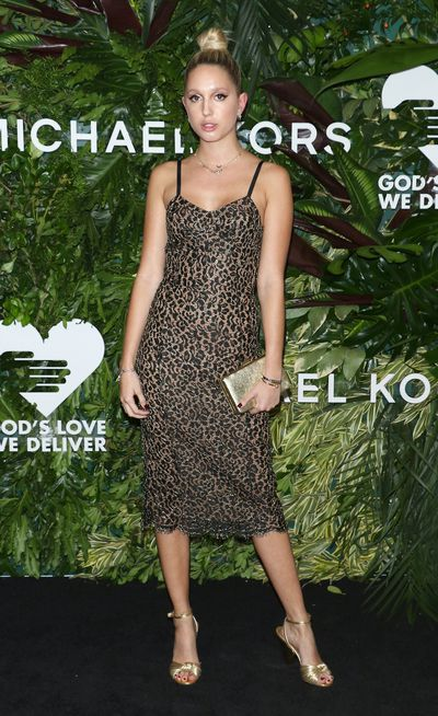 Princess Maria-Olympia of Greece at the Annual God's Love We Deliver Golden Heart Awards in New York City