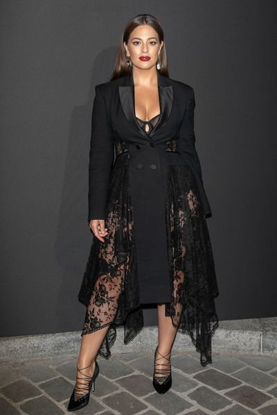 Ashley Graham at <em>Vogue Paris</em> Foundation Gala in Paris, July 2018