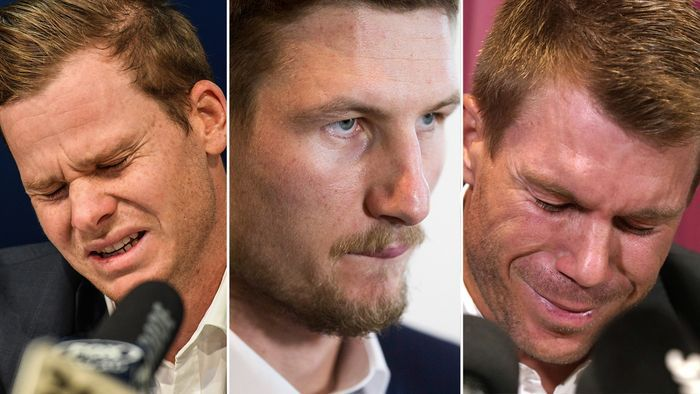 Smith, Bancroft and Warner were banned by CA over the ball-tampering scandal