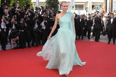 This seafoam Giambattista Valli Couture gown was one of the 2012 jury member's more popular choices.