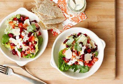Thursday: Mexican salad bowl