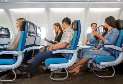 Hawaiian Airlines Extra Comfort seats with legroom