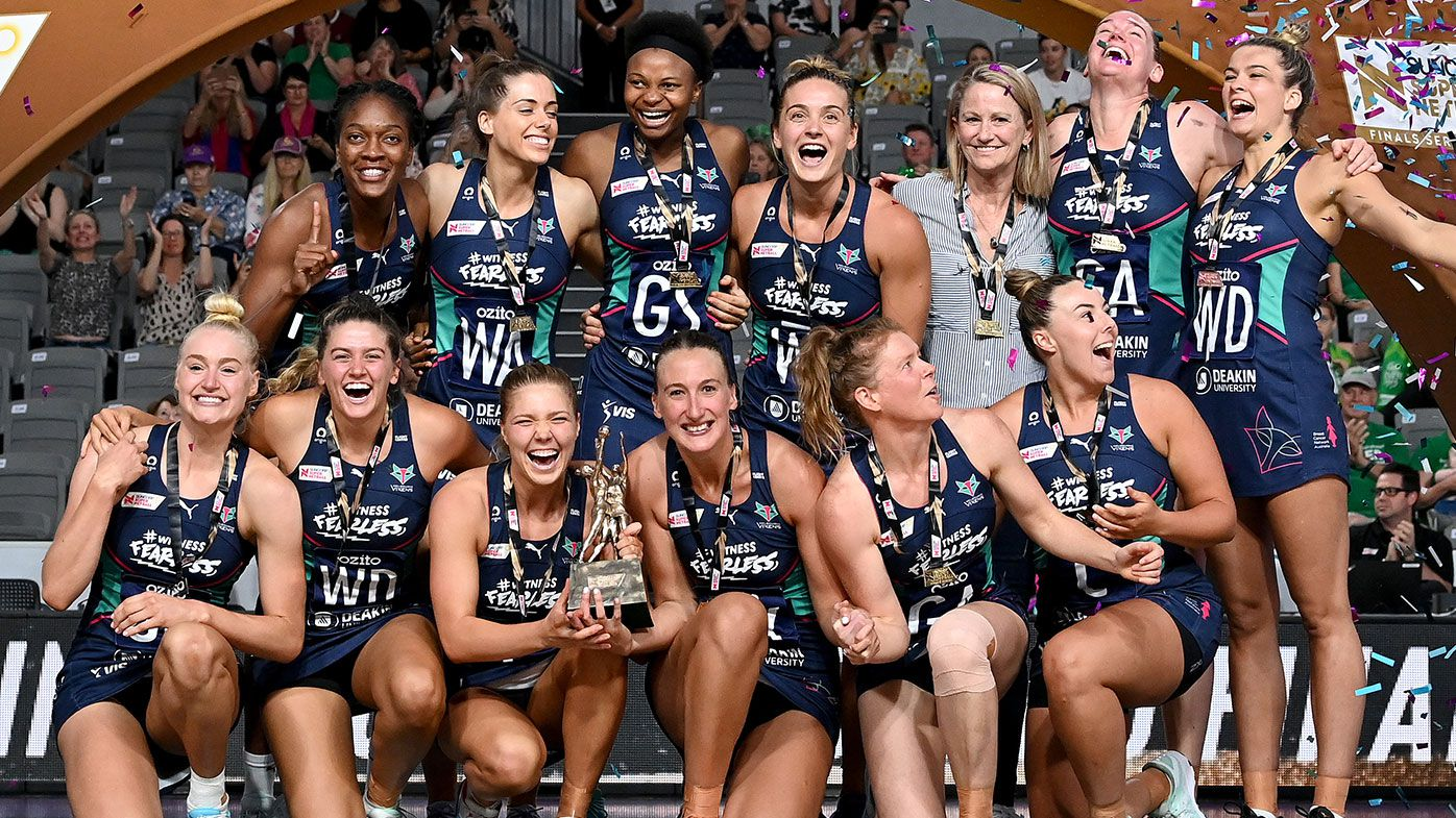 Melbourne Vixens beat West Coast Fever 66-64 to claim 2020 Super Netball title