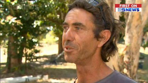 Cairns local, Justin Ward.