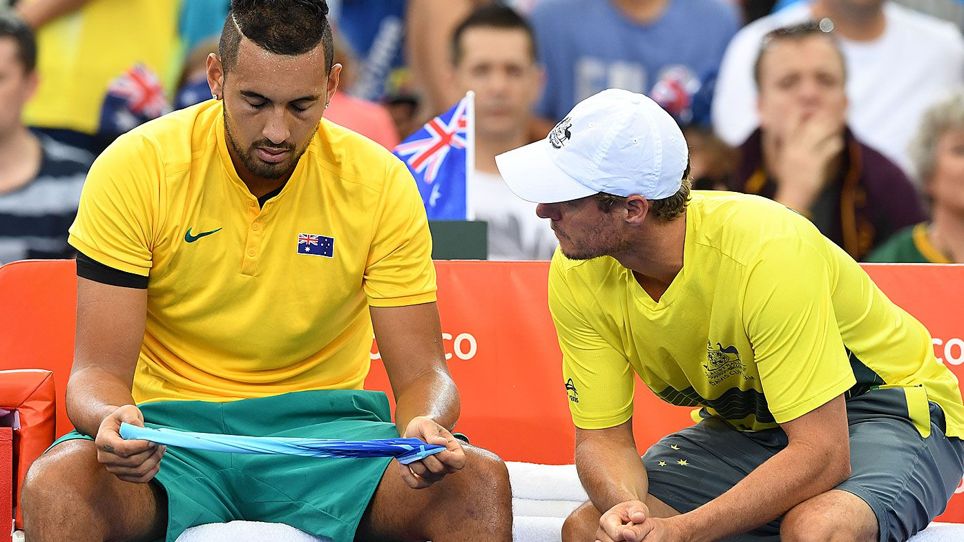 Kyrgios and Hewitt
