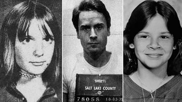 Serial killer Ted Bundy, 12-year-old Idaho girl Lynette Culver, and eight-year-old Annie Marie Burr from Tacoma, Washington.