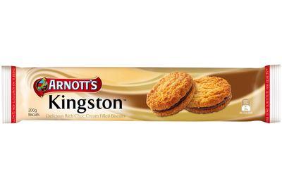 Kingston: 67 calories/281kj per biscuit