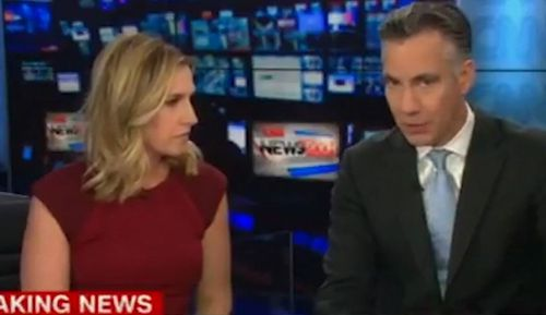 Presenters Poppy Harlow and Jim Scuitto were interviewing a Secret Service expert about the mail bombs, which the FBI said were genuine- when their own office was sent one.