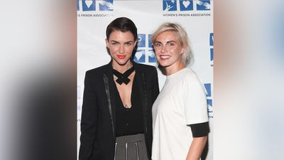 But sorry girls. Ruby is off the market. Last year, she became engaged to fashion designer Phoebe Dahl, granddaughter of author Roald Dahl and cousin of model Sophie Dahl. (Getty Images)