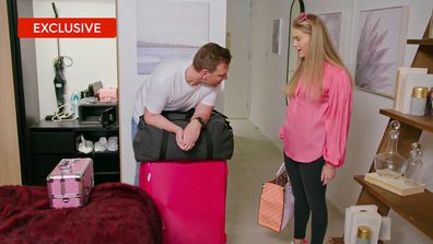 Exclusive: How many bags did Georgia take on the Couples' Retreat?