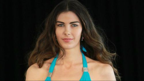 Former Miss World Australia competitor Stephanie Campbell. (Supplied)