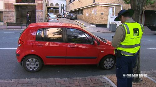 Inspectors have a target of $37 million in tickets this financial year. Picture: 9NEWS