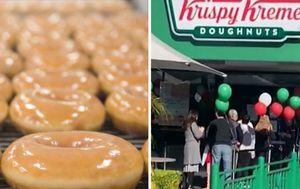 Krispy Kreme drops free doughnut campaign after huge lines spark social distancing fears
