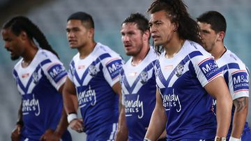 The Bulldogs have two rounds to avoid a 2020 wooden spoon finish. (Getty)