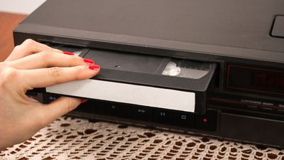VCR and DVD players