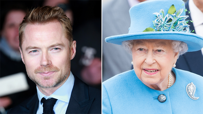 Singer Ronan Keating recalls awkward moment he was scolded for taking a selfie with the Queen