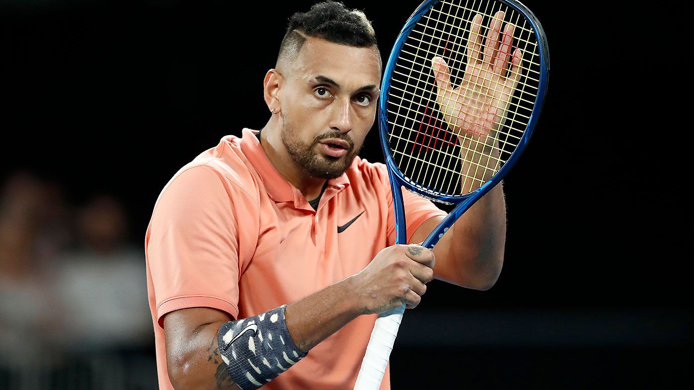 Rising Nick Kyrgios still sorting things out after strong Australian summer