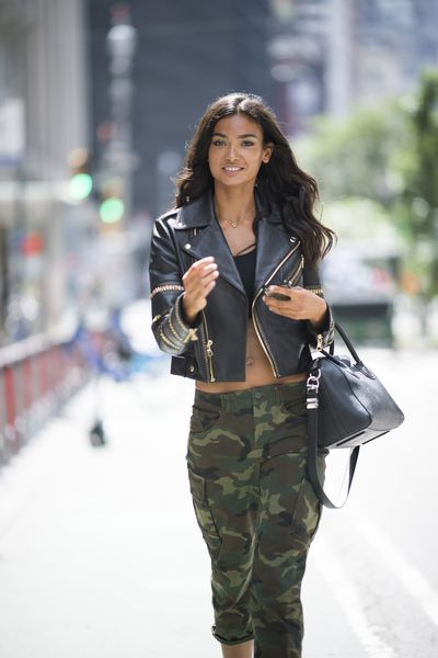 Kelly Gale at the Victoria's Secret Casting Call in New York on August 21.