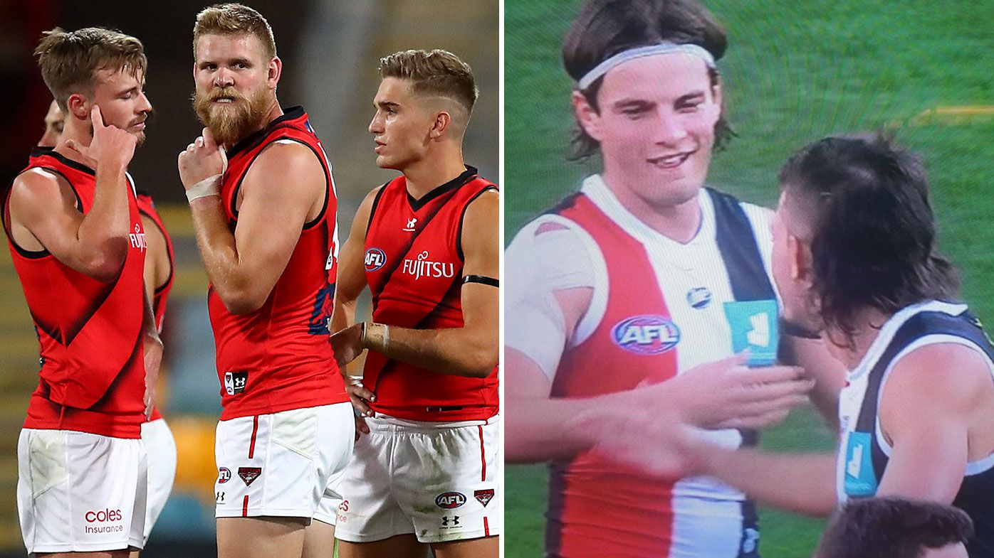 'That's an insult': St Kilda's half-time handshakes highlight humiliation of dismal Dons