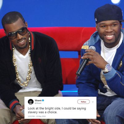 <strong>50 CENT VS KANYE WEST<br /> </strong>