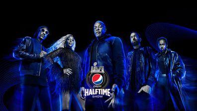 Dr. Dre, Mary J. Blige, Snoop Dogg, Eminem and Kendrick Lamar to headline at Superbowl Halftime show 2022.
