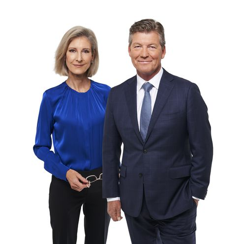 Kos hand over to Michael Thomson for the network's flagship 6pm bulletin.