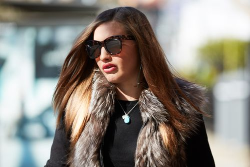 Media personality Lauryn Eagle has appeared in court today facing driving charges.