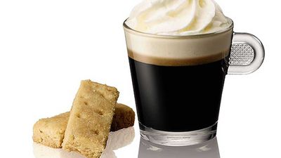 Irish coffee and shortbread