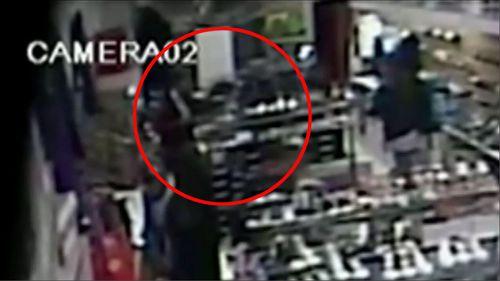 Douglsa Johnson Campsie Sydney shoe store stabbing murder CCTV