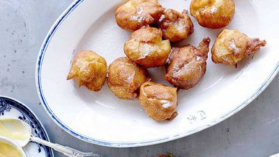"""Click through for our&nbsp;<a href=""""http://kitchen.nine.com.au/2016/05/16/18/06/greek-pastry-puffs-with-lemon-curd"""" target=""""_top"""">Greek pastry puffs with lemon curd</a>"""