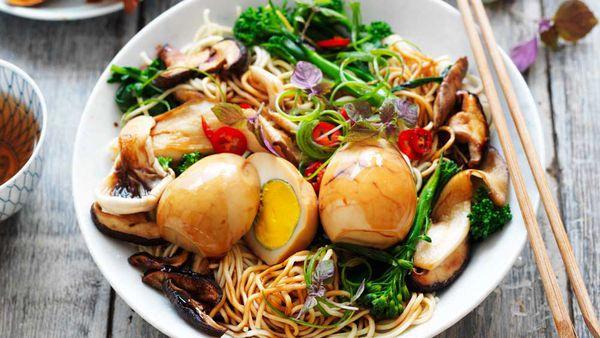 Tea egg noodles